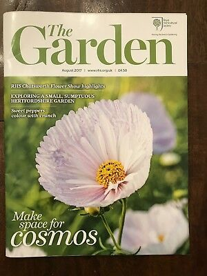 THE GARDEN - RHS - Royal Horticultural Society -  Ausgabe August 2017