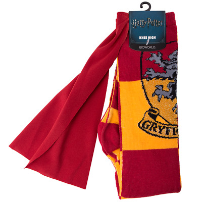 Harry Potter - Gryffindor Knee High Socks with Cape - Loot - BRAND NEW