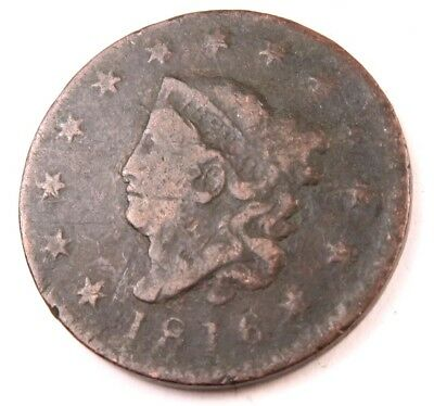 1816 Coronet Head Large Cent // Better Date! // (LC190)
