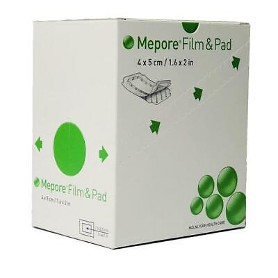 Mepore Film & Pad Absorbent Dressing(s) 4cm x 5cm - Wounds Cuts Abrasions
