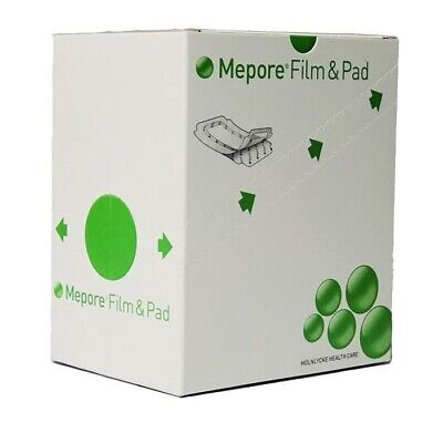 Mepore Film & Pad Absorbent Dressing(s) 5cm x 7cm - Wounds Cuts Abrasions