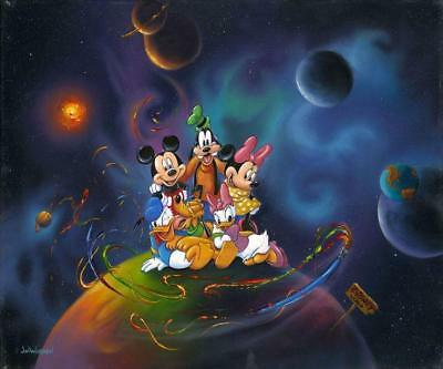 """Disney World"" (Premiere) by Jim Warren with Mickey Mouse and friends"