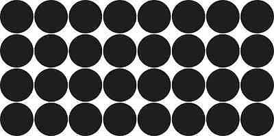 [32x] Black Camera Dots Webcam Lens And LED Light Cover Privacy Sticker Decals
