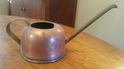 Vintage Antique Copper Brass Watering Can