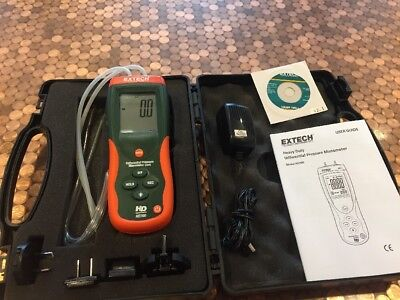 EXTECH INSTRUMENTS Heavy Duty Differential Pressure Manometer HD700