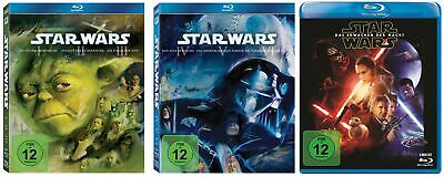 Star Wars Episode 1+2+3+4+5+6+7 / Complete Saga # 8-BLU-RAY-SET-NEU