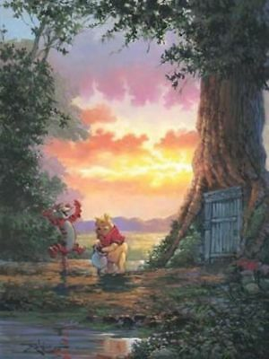 """""""Good Morning Pooh"""" by Rodel Gonzalez inspired by Winnie The Pooh"""