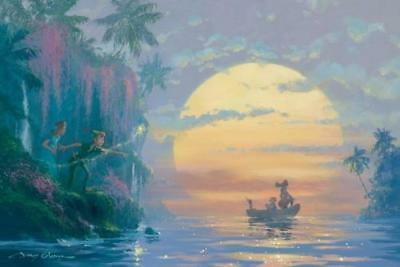 """Hook Discovered"" by James Coleman inspired by Peter Pan"