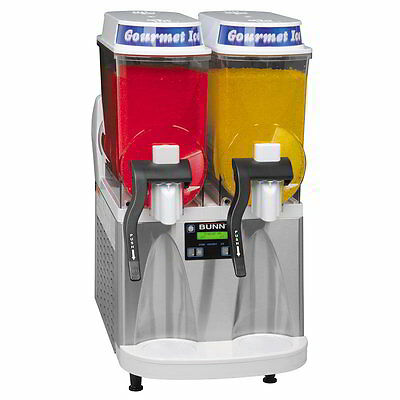 Bunn Ultra 2 SS/WHT Frozen Margarita Slush Machine &WRTY CONTACT 2 SHIP