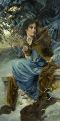 """""""Love Blooms in Winter"""" By Heather Theurer"""