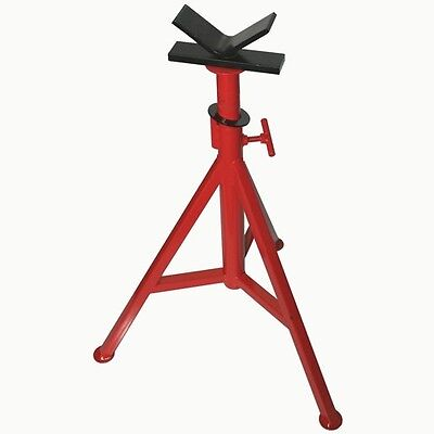 PT® 56662 V-Head Pipe Stand 48 in. Adjustable Pipe Jack fits RIDGID® VJ-99