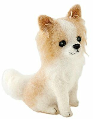 "Houseware Needle Felting Kit Dog "" Wool Felt Craft Chihuahua Hamanaka "" MA"