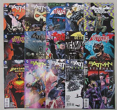Lot of 15 BATMAN Random DC Comic Books - NO DUPLICATES