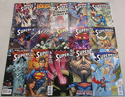 Lot of 15 Random DC comics -- SUPERMAN