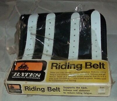 Bates Motorcycle Riding Belt Knucklehead Panhead Chief Era