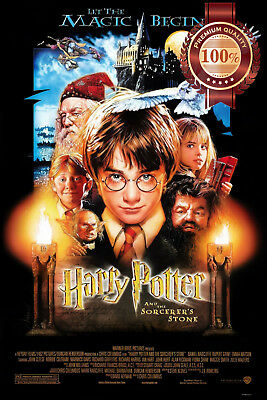 New Harry Potter And The Sorcerers Stone Movie Original Art Print Premium Poster