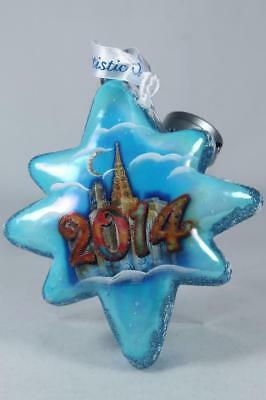 G. DeBrekht-Russia 'Star Dated 2014' Light-Up Ornament New In Box!