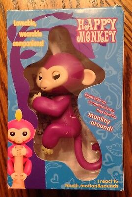 Authentic Wowwee Fingerlings Sophie Baby Monkey