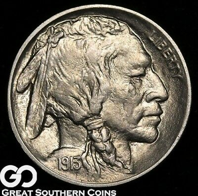 1913 Buffalo Nickel, Type 1, Very Nice FULL Strike, Superb Gem BU++
