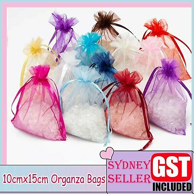 10/30/50/100 Organza Bags Candy Wedding Christmas Candy Jewellery Gift Packaging