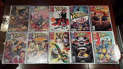 X-Men 92 1-10 Complete Comic Lot Run Set Marvel 1st Print Collection