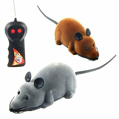 Wireless Remote Control RC Rat Mouse Toy For Cat Dog Pet Novelty Gift Funny (Gra