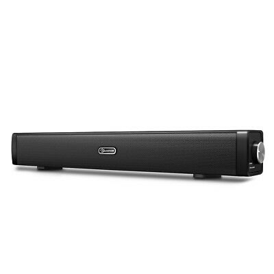 EIVOTOR 18'' Multimedia SoundBar Speaker w/ Built-in Subwoofer for TV Computer