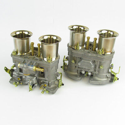 Pair of new genuine Weber 44IDF carburettors carbs Ford VW special offer 18990