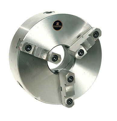 Brand New Chuck 3 Jaw Self Centering 2 Piece Plainback and Camlock Chester