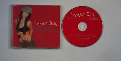 Shania Twain I'm Gonna Getcha Good! UK 1-Track Adv CDSingle 2002