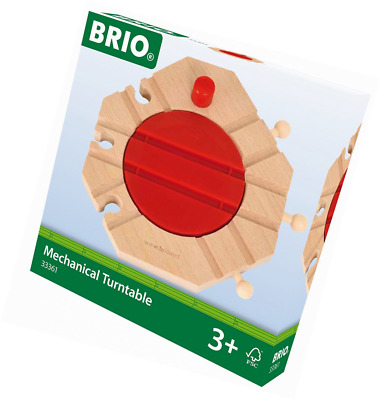 BRIO World - 33361 - PLAQUE TOURNANTE MECANIQUE