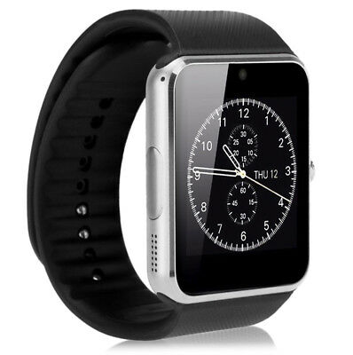 Smartwatch Bluetooth Armband Uhr + Kamera SIM Handy GT08 für iOS iPhone Android