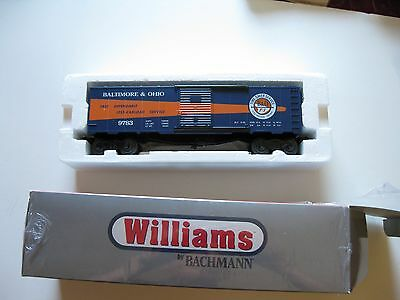 O27 40ft Box Car B&O (Timesaver) By Williams with Free Shipping