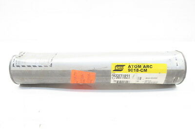 New Esab 255071821 Atomic Arc 9018-Cm Welding Rods 1/8In 10Lbs D584885