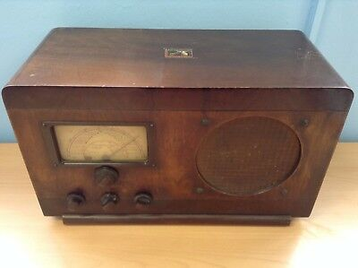 Vintage HMV His Masters Voice Model 1401 Radio - SPARES RADIO