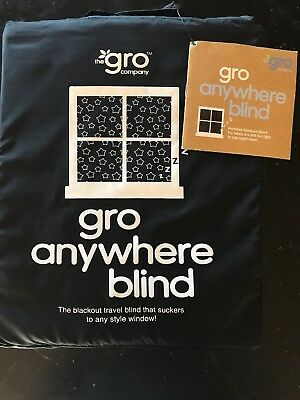 The Gro Company Gro-Anywhere Blind  The Portable Blackout Blind