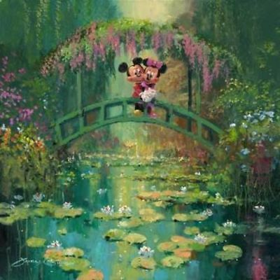 """""""Mickey and Minnie at Giverny"""" by James Coleman"""