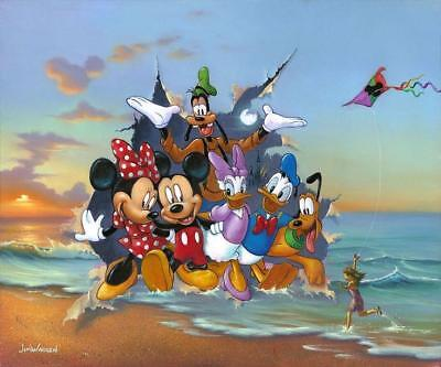 """Mickey and the Gang's Grand Entrance"" (Premiere) By Jim Warren"
