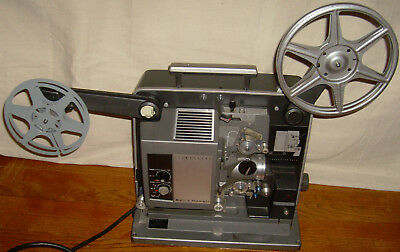 Vintage Bell & Howell 535 Filmosound 16mm Sound Film Projector Working