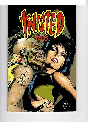 Twisted Tales Special Eclipse Comics Dave Stevens Cover 7.5 Very Fine-