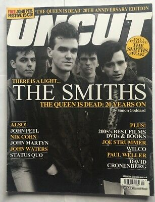 Uncut Magazine - Take 104 January 2006 The Smiths The Queen Is Dead 20 Years On