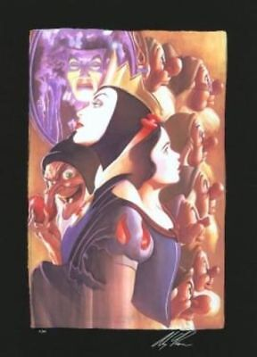 """Once There Was A Princess"" (Chiarograph) by Alex Ross inspired by Snow White an"