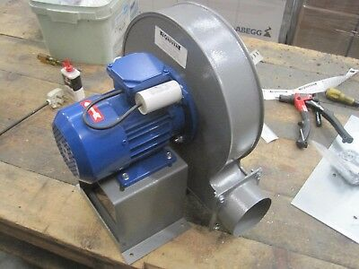 High Quality Laser / Fume Extraction Blower 230v high pressure 0.37KW 800m3/hr