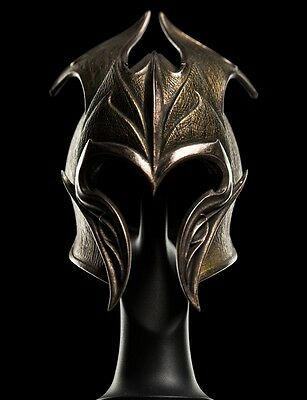 The Hobbit  MIRKWOOD HELM NEU OVP THE WETA CAVE IN STOCK !! NOW !!! AUKTION !!!