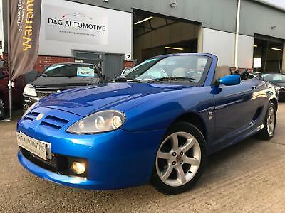 2003 03 MG TF 1.8 135 Convertible Petrol Manual TROPHY BLUE TWO FORMER OWNERS