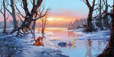 """""""Playful Afternoon"""" by Rodel Gonzalez inspired by Winnie the Pooh"""