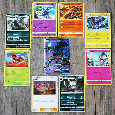 *NEW* POKEMON TCG SUN & MOON BURNING SHADOWS BOOSTER Ultra Holo Flash GX Cards