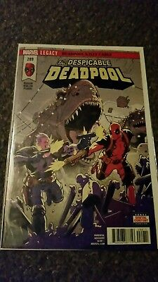 The Despicable Deadpool #289Legacy deadpool kills cable pt3( DIGITAL CODES ONLY