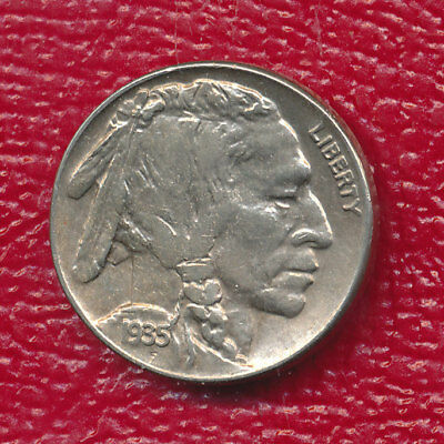 1935 Buffalo Nickel **about Uncirculated** Free Shipping!