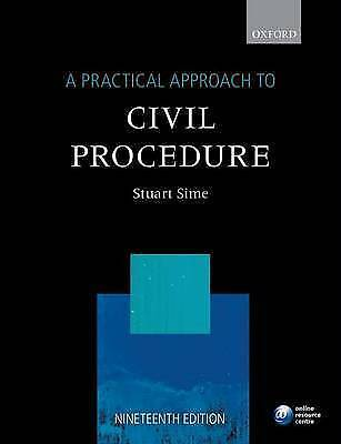 A Practical Approach to Civil Procedure, 19th Ed. (Practical Approach-ExLibrary